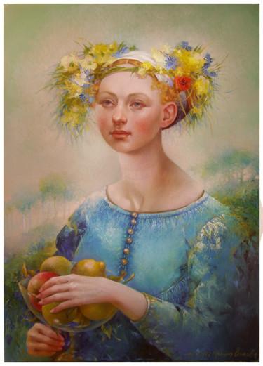 Painting, oil, artwork by Irene Vlassova