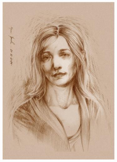 Drawing, artwork by Irene Vlassova